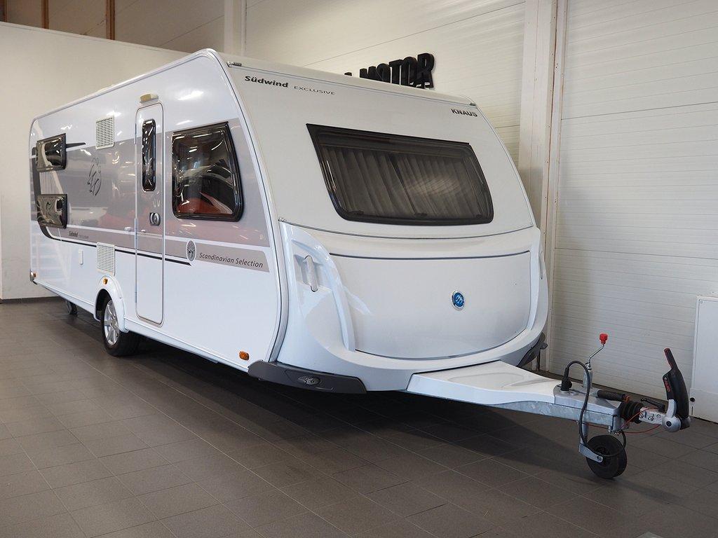 Knaus Südwind 590 UK Scandinavian Selection AC-bodel Förtält 2016