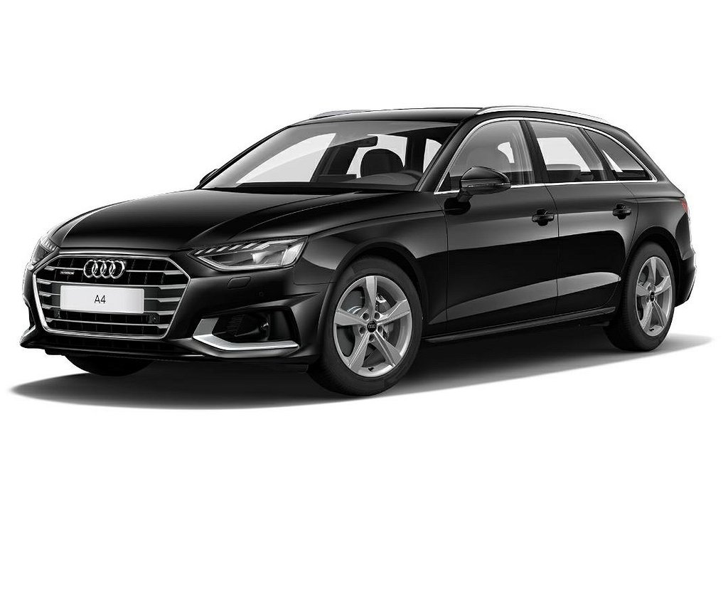 Audi A4 204 hk quattro S tronic / Toveks Business deal