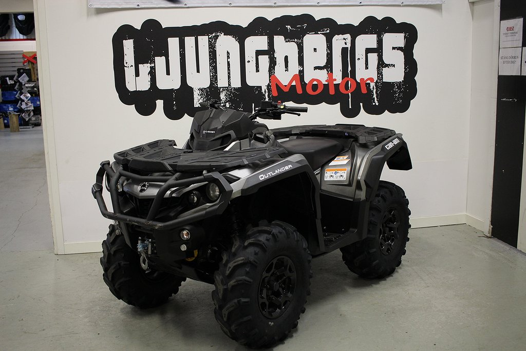 Can-Am Outlander 650 Pro T3A 650 2018