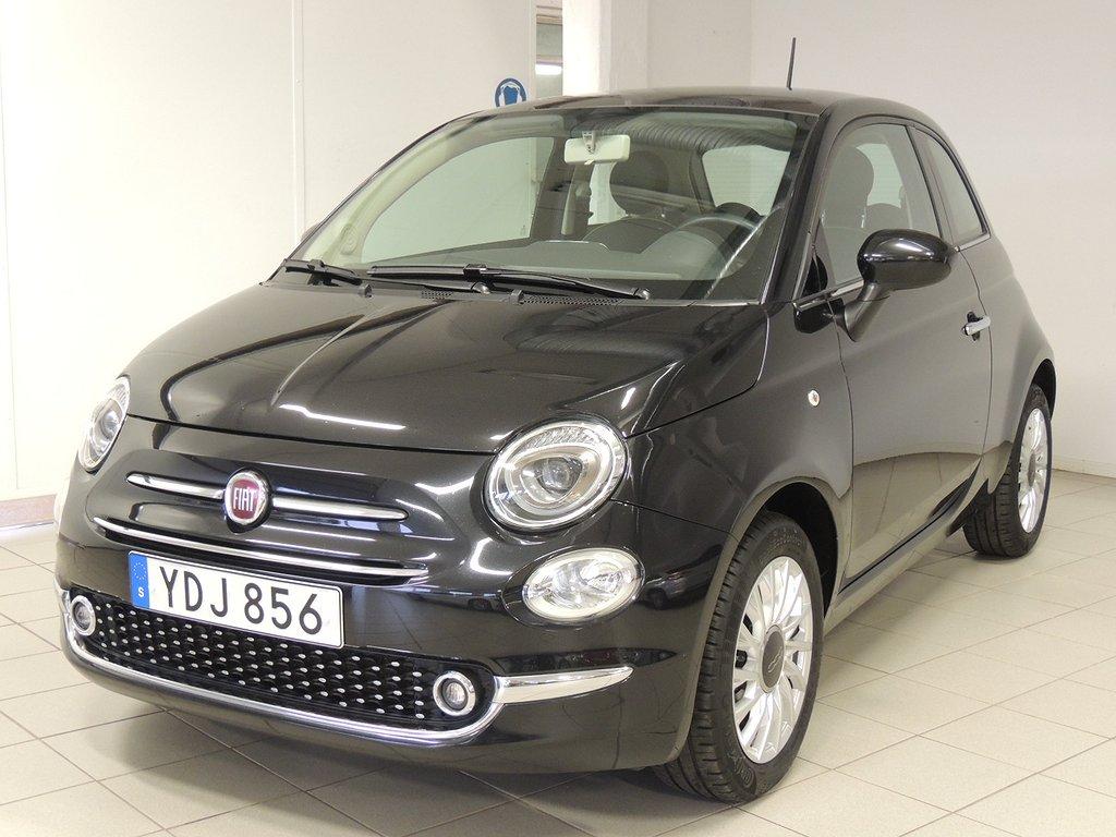 Fiat 500 1.2 69hk Lounge