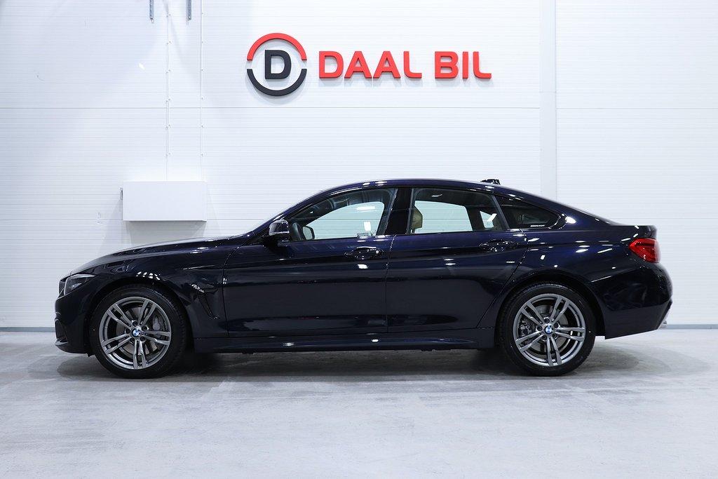 BMW 440 I X-DRIVE 326HK GRAN COUPÈ M-SPORT TAKLUCKA H/K NAVI