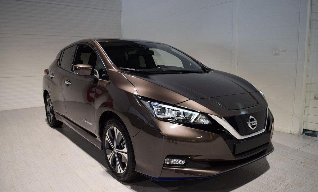Nissan Leaf Tekna 24 mån Service+Vinterhjul Läder 2021