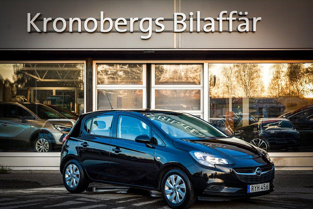Opel Corsa 5-dörrar 1.4 Euro 6 90hk *LEDRAMP*LÅG SKATT*