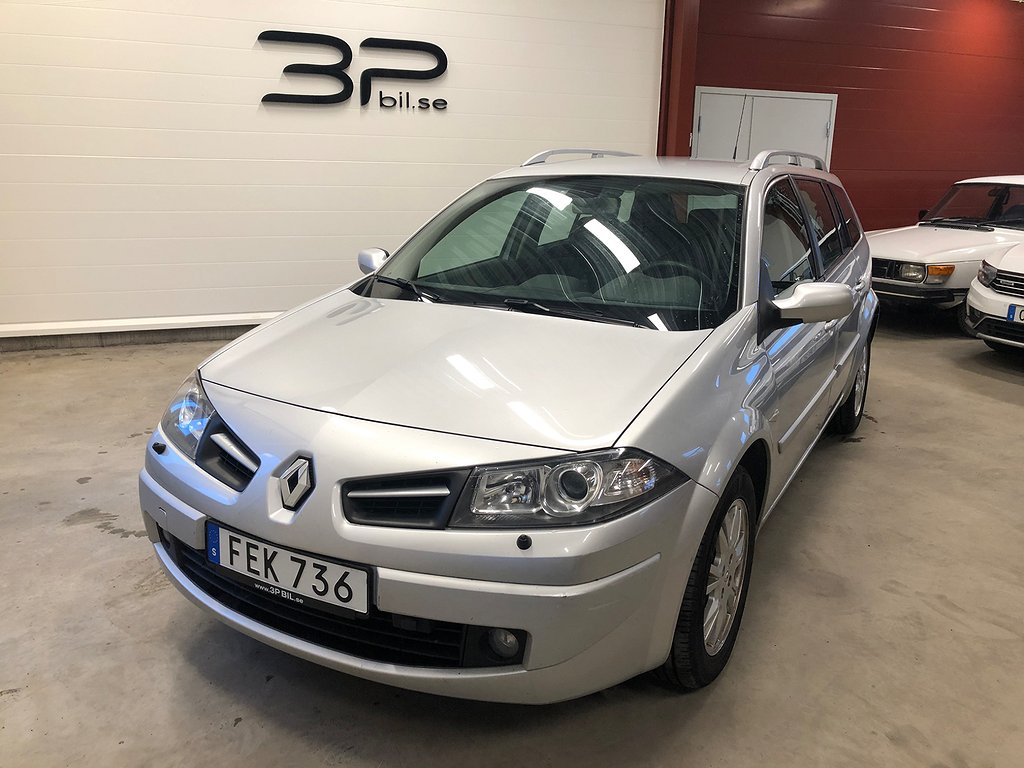Renault Mégane Kombi 1.6 105hk /14495mil/ Bes. tom 2022-01/