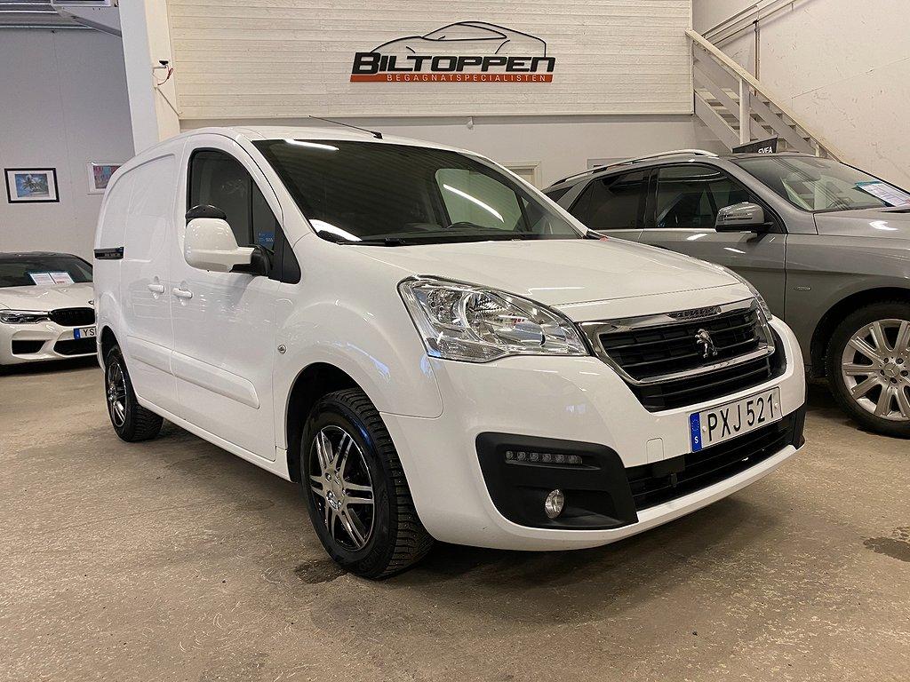 Peugeot Partner 1.6 HDI Eu6 99hk Automat+3-Sits+Motorvärmare