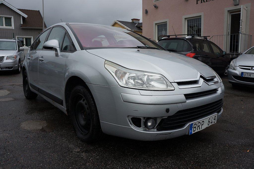 Citroën C4 1.6 Bioflex 109hk Ny Bes Ny Servad
