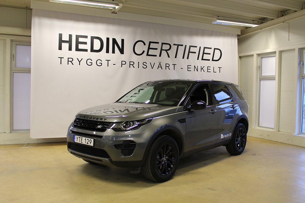 Land Rover Discovery Sport 2.0D TD4 4WD SWB 150