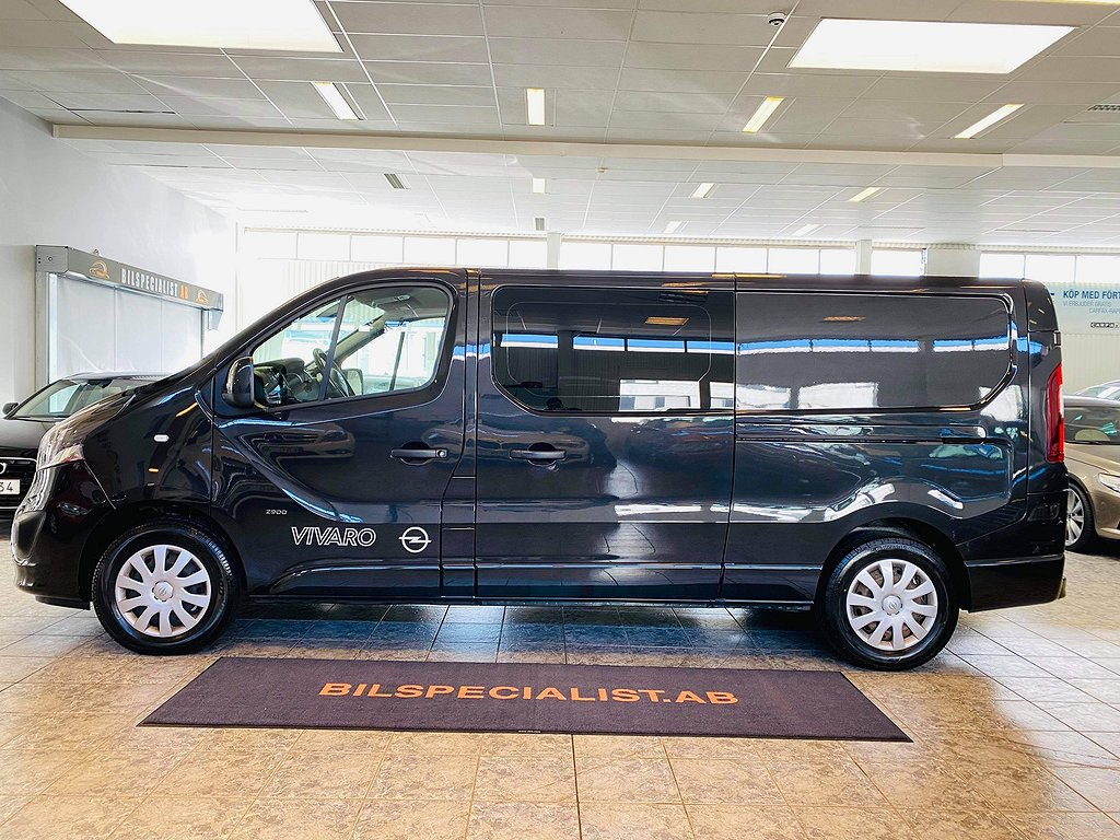 Opel Vivaro Van 1.6 CDTI Dubbelhytt 5-sits Euro-6 Drag 145hk