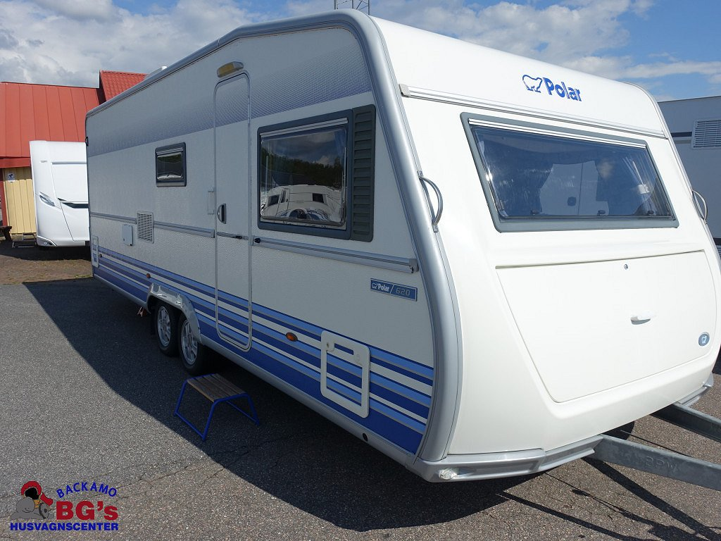 Polar 620 CTX / Dubbelbädd / Dinette