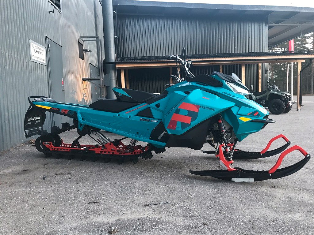 Ski-doo FREERIDE 154 850 SHOT -19 *130MIL*