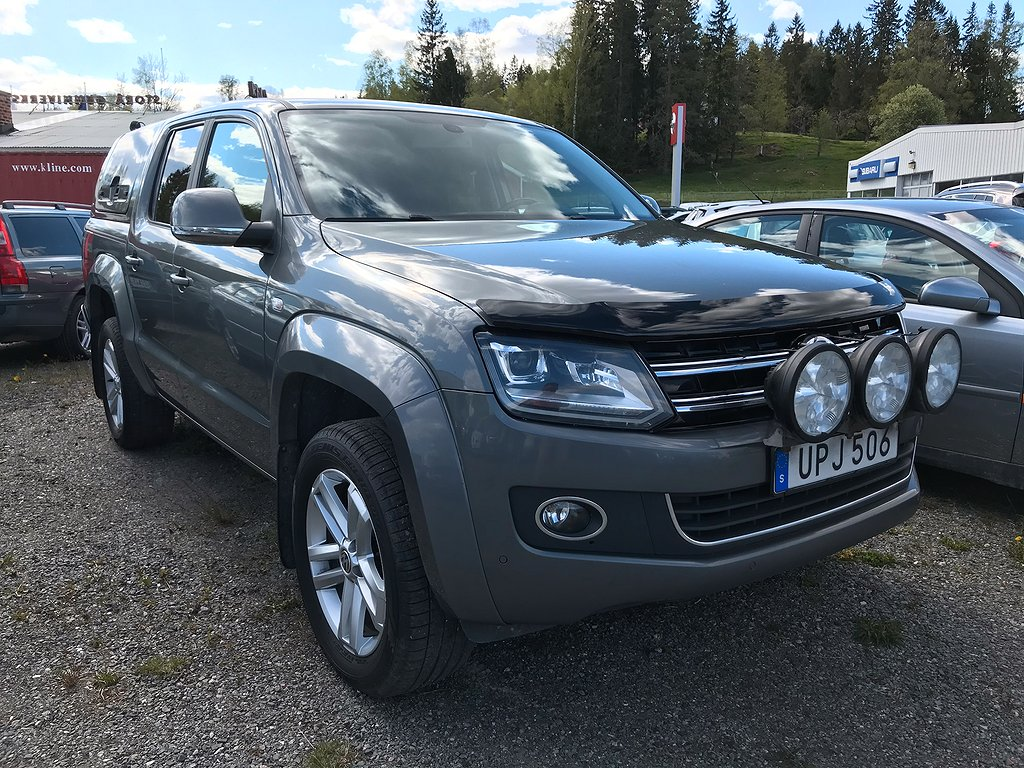VW AMAROK 2.0 TDi 4-Motion 179.900:- ex. moms AUT Highline 180hk