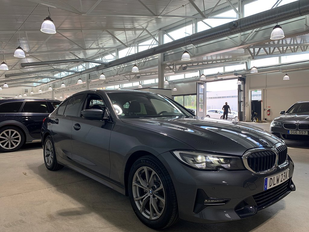 BMW 320d xDrive Sedan, G20 (190hk)