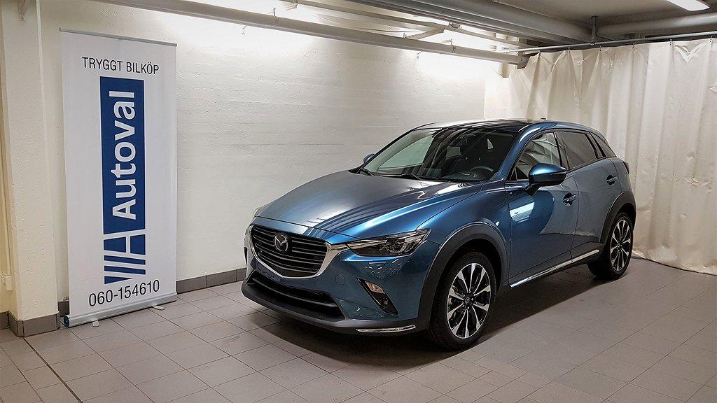 Mazda CX-3 AWD A6 2.0 Optimum 150hk