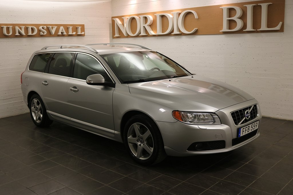 Volvo V70 2.5 FT AFV Bi-Fuel Summum 231hk