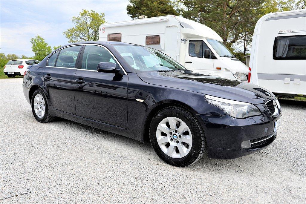 BMW 520 d Sedan 177hk ^Navi *Läder *7000mil