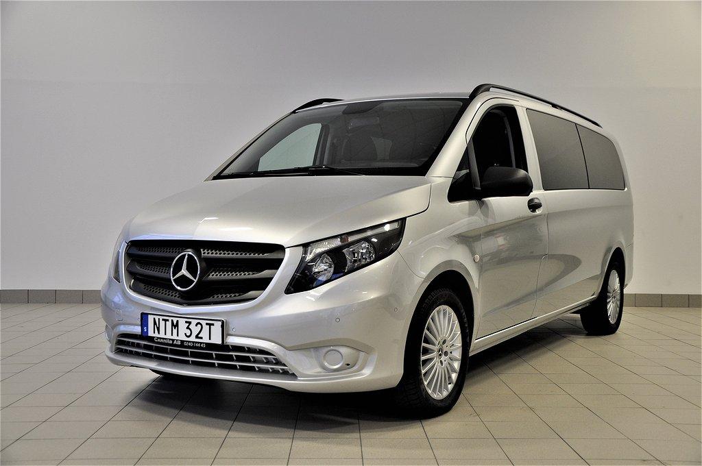 Mercedes Benz Vito Tourer 116d XL 9 sits Euro6 LUDVIKA