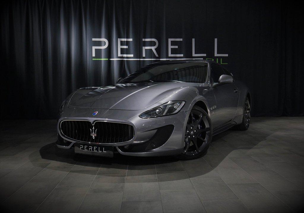 Maserati GranTurismo Sport MC-Shift V8 460hk / 1110 mil /