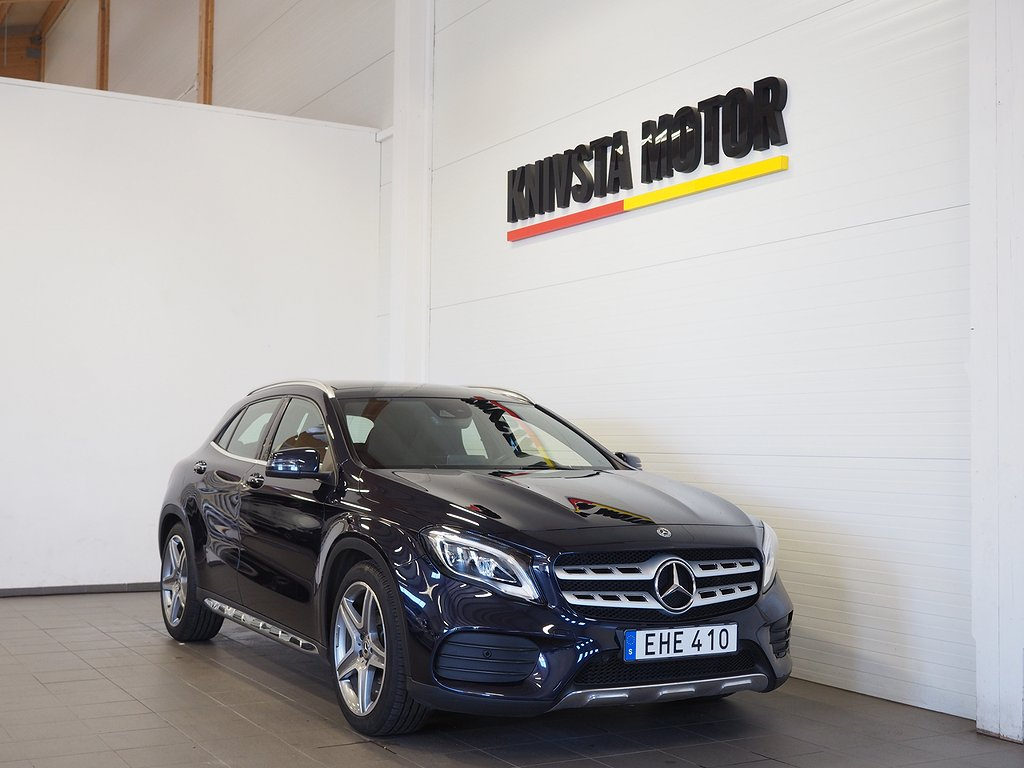 Mercedes-Benz GLA 200 d 4MATIC Automat AMG Taklucka Dragkrok 2018