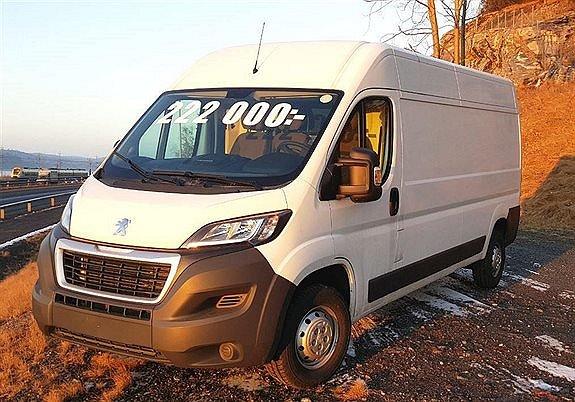 Peugeot BOXER L3H2 EURO 6 BlueHDi 163hk