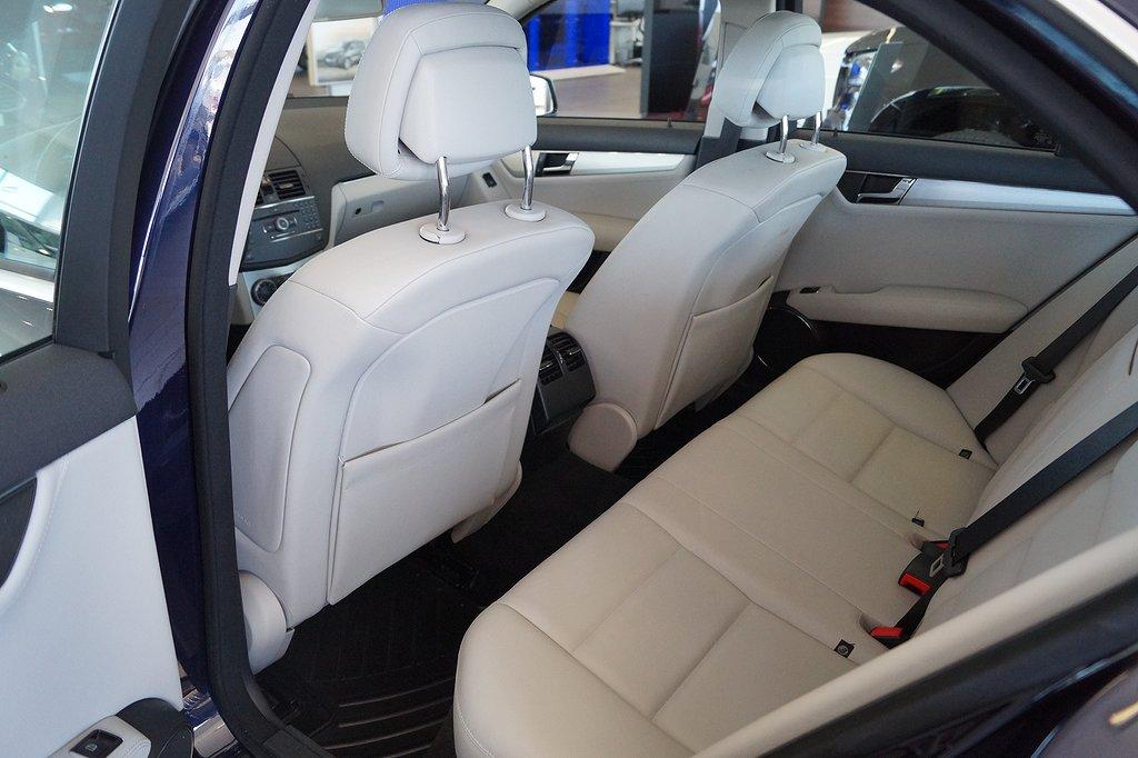 Mercedes-Benz C 230 (204hk) Dragkrok / Skinn / Navigator