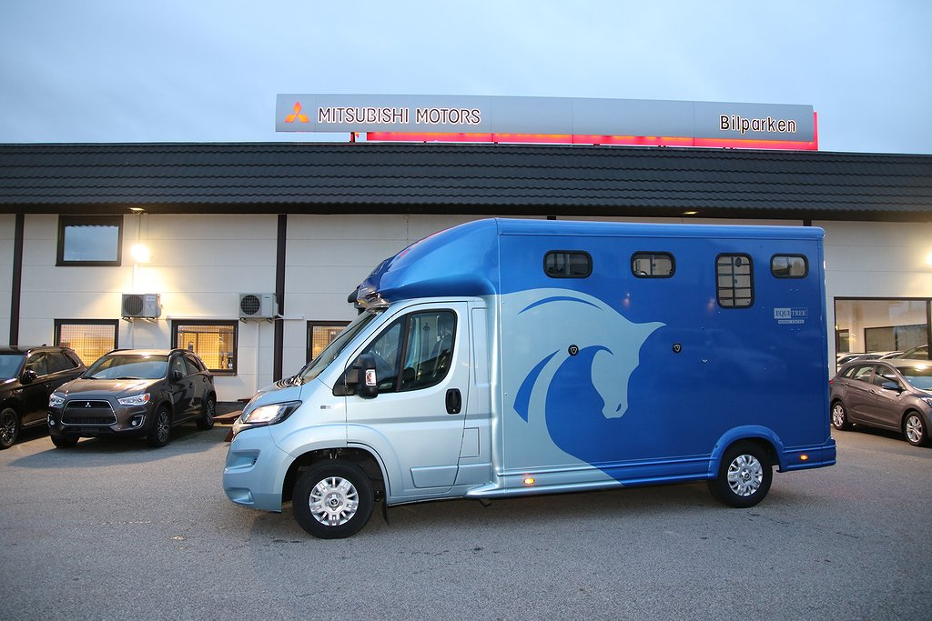 Equi-Trek Sonic Hästlastbil 160HK TDI / upp till 1080kg lastvikt / Leasbar