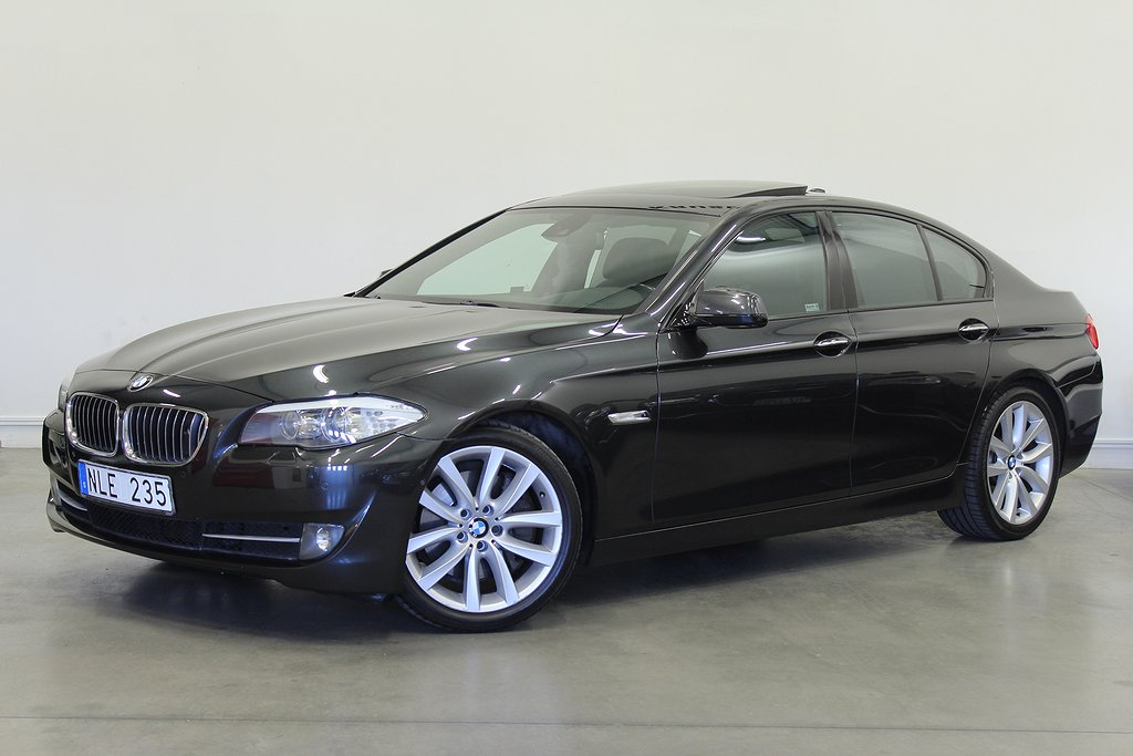 BMW 535 i Sedan 306hk NAVI/NIGHTVISION/TAKLUCKA/FULLUTRUSTAD