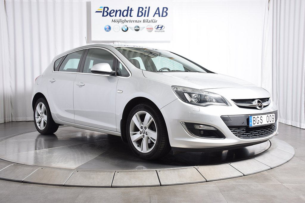 Opel Astra 1.4 Turbo 5D Aut/ Mkt Välutrustad