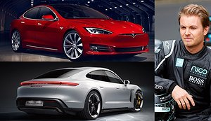 F1-stjärnans oväntade hjälp till Tesla i Porsche-fighten