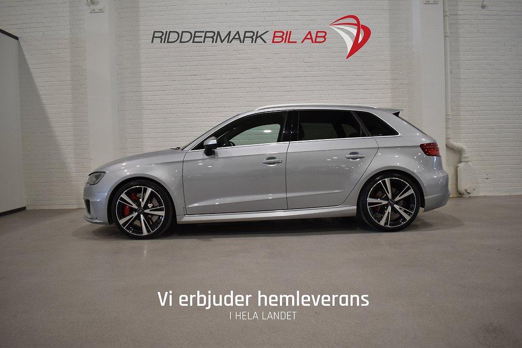 Audi RS3 2.5TFSI Quattro Bang Olufsen Magnetic M-värm 367hk