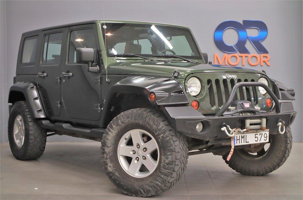 Jeep Wrangler Unlimited 3.8 V6 4WD / Vinch / Mudder / 199hk