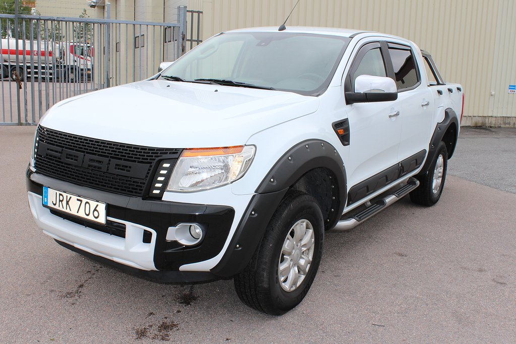 Ford Ranger Double Cab 2.2 TDCi 4x4 AUTO MOMSBIL EURO 6