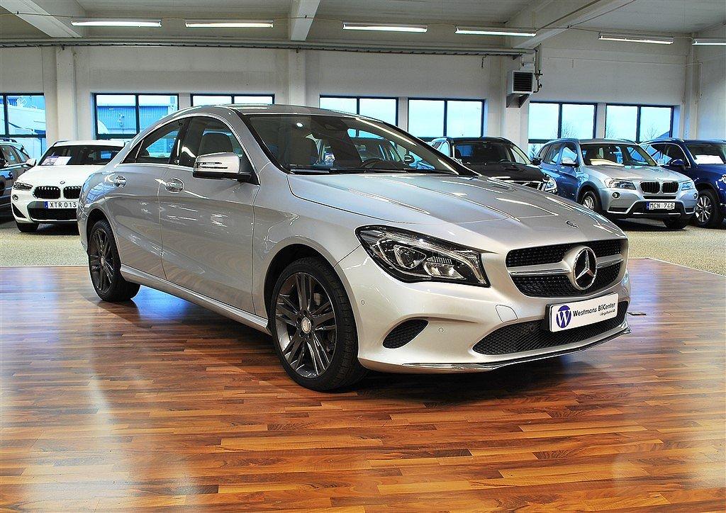 Mercedes-Benz CLA 200 156 hk 7G-DCT *Skinn*