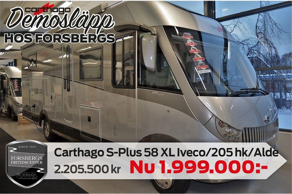 Carthago S-plus I 58 XL Suite Iveco / KAMPANJPRIS / 205 hk / 8-vxl Automa