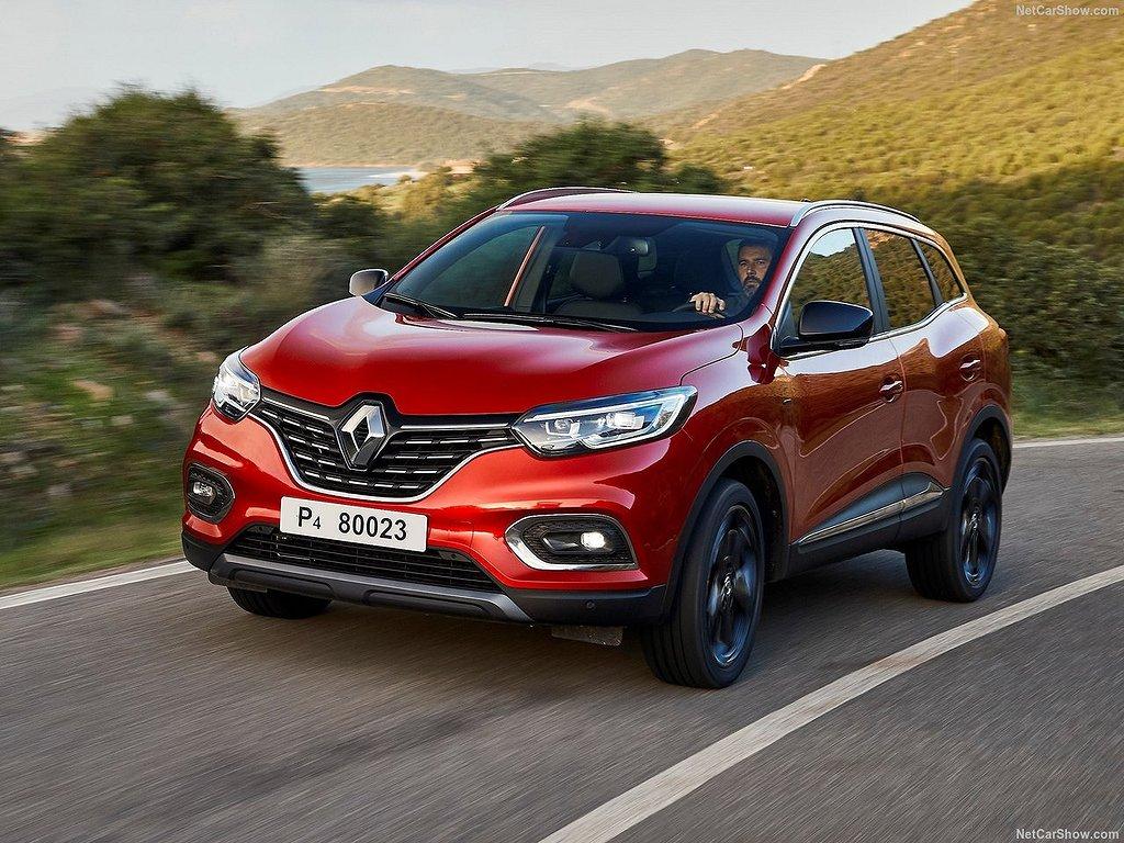 Renault Kadjar snett framifrån.