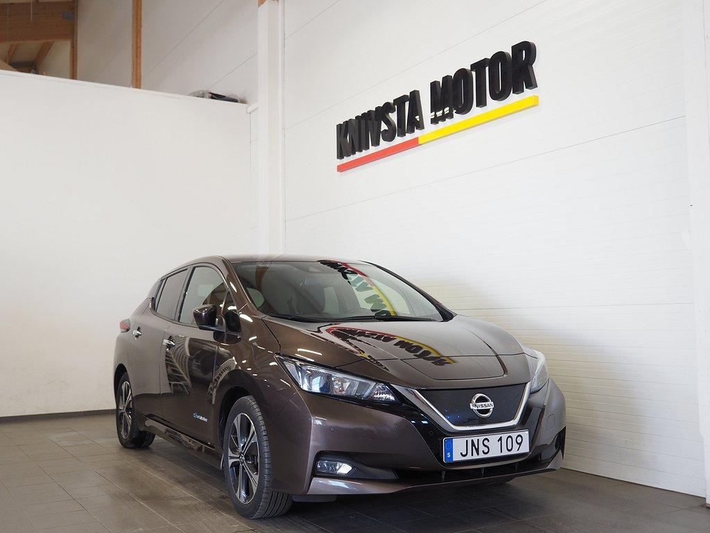 Nissan Leaf 40 kWh 149hk N-Connecta (360 kamera, GPS, BOSE) 2019