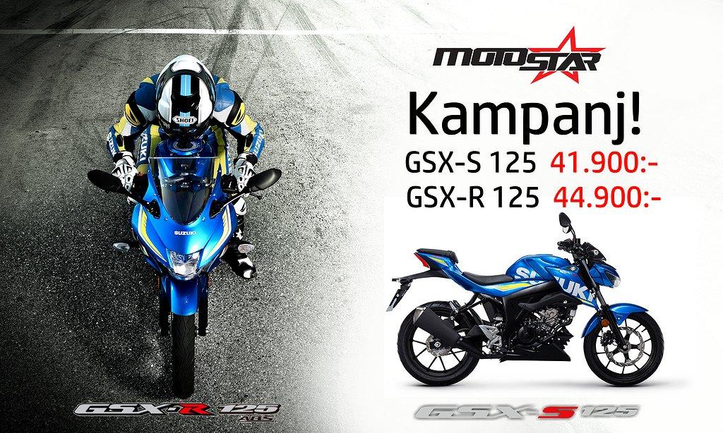 Suzuki GSX-R 125 ABS Kampanj