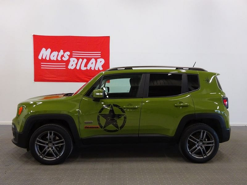 Jeep Renegade 2.0 CRD 4WD Automatisk 75th Anniversery Ed