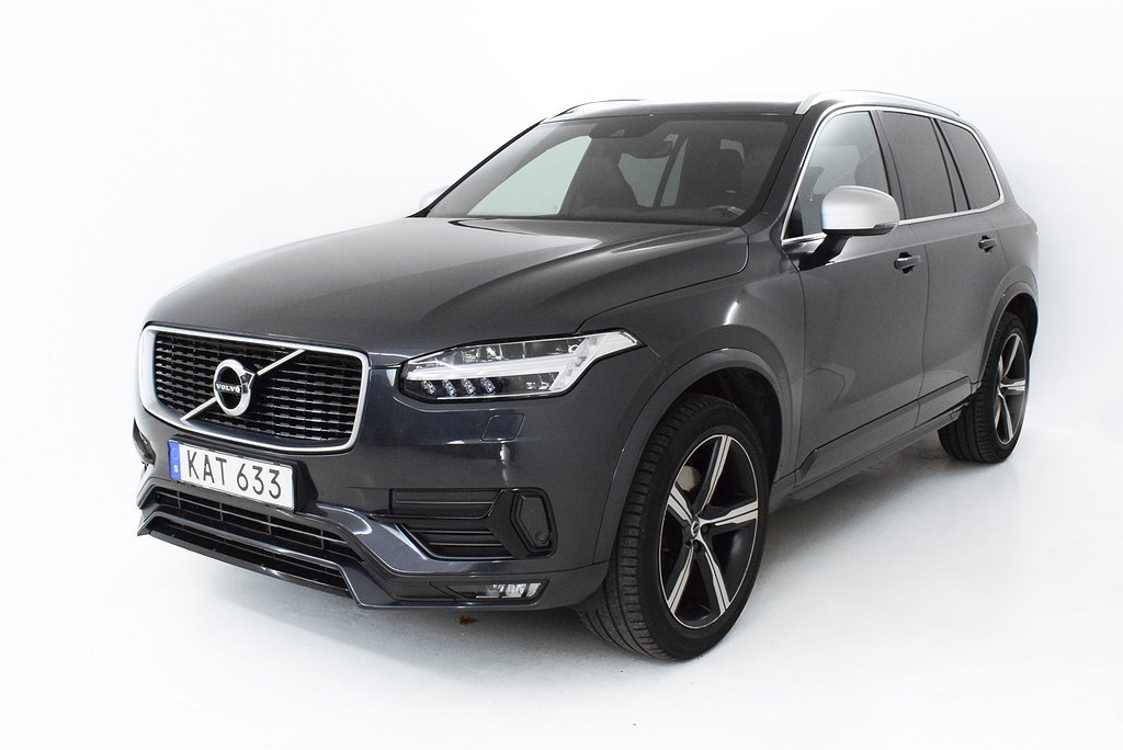 Volvo XC90 D5 AWD Geartronic R-Design 7-sits 225hk