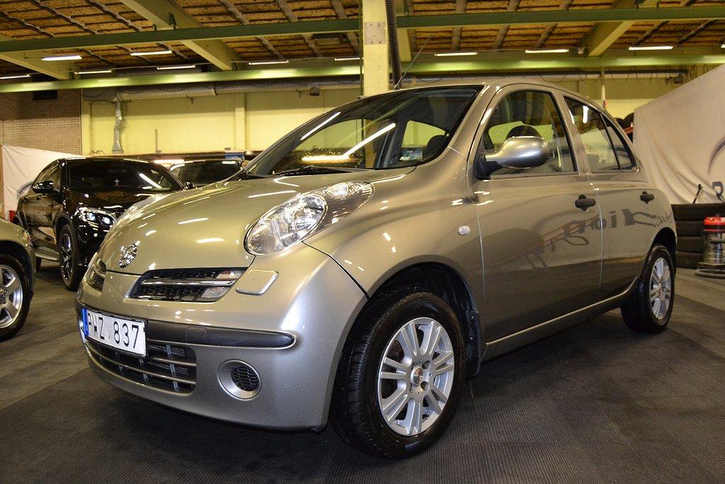 Nissan Micra 5-dörrar 1.2 80hk