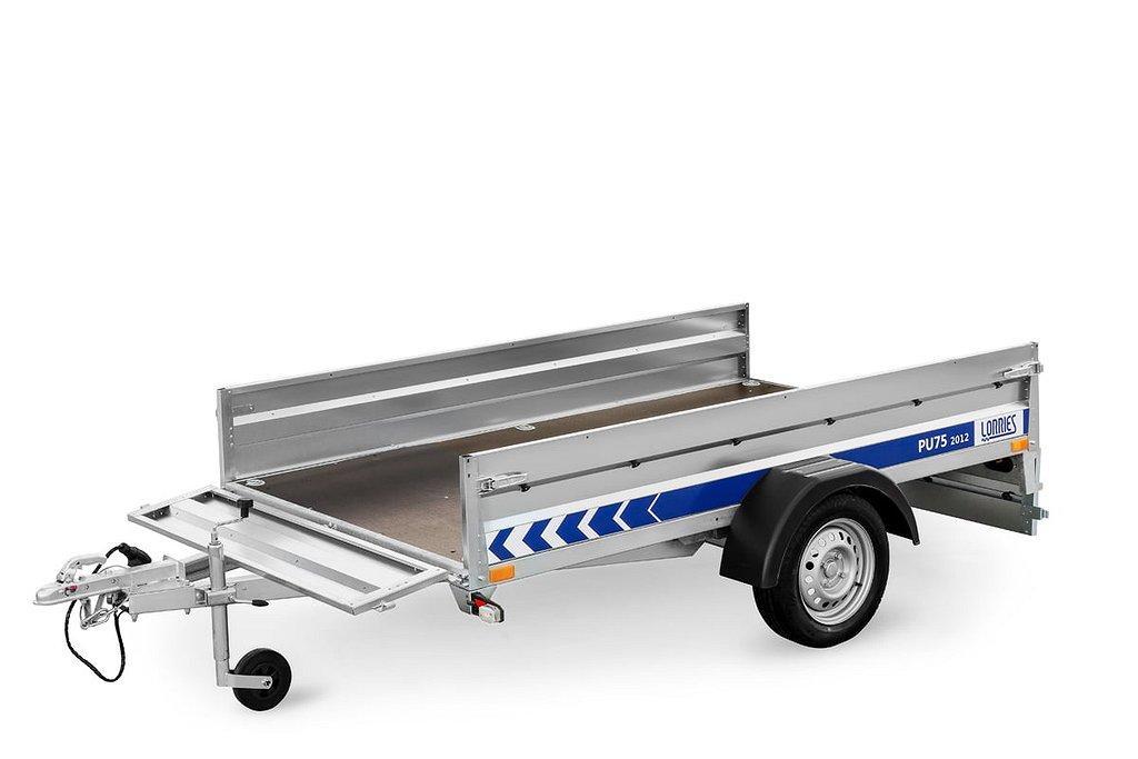 Lorries Släpvagn PU75-2012