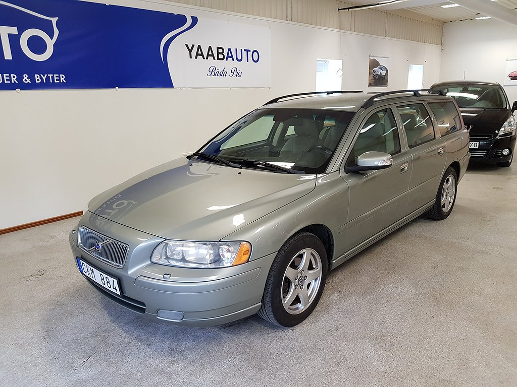 Volvo V70 2.4D Kinetic, Classic 163hk
