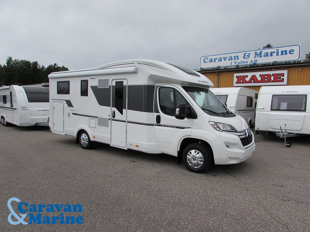 Adria Matrix Axess 670 SL - Långbädd/Garage
