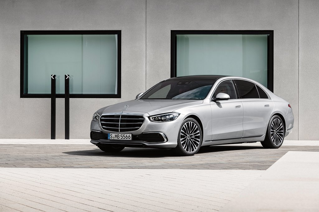 Mercedes-Benz S-Klasse, 2020, Outdoor, Standaufnahme, Exterieur: Hightechsilber // Mercedes-Benz S-Class, 2020, outdoor, still shot, exterior: hightech silver