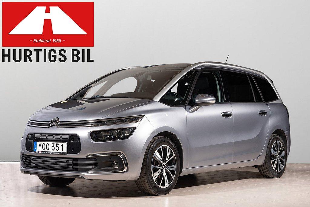 Citroën Grand C4 Picasso 1.6 BlueHDi 120hk Aut 7-sits