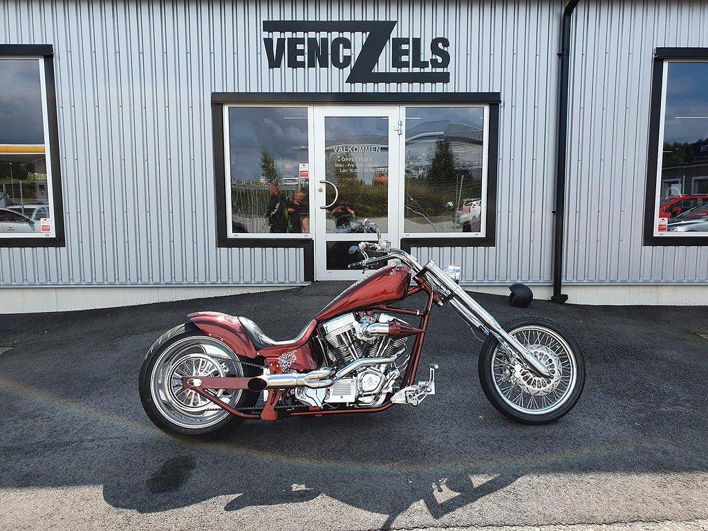 Harley-Davidson Softail Chopper Custom Unik 107 ci