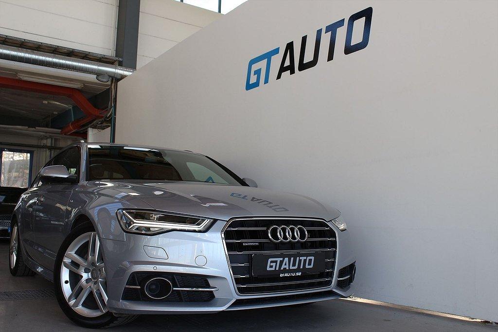 Audi A6 Quattro TDI S LINE NAVI EVOLUTIONSPAKET HEMLEVERANS