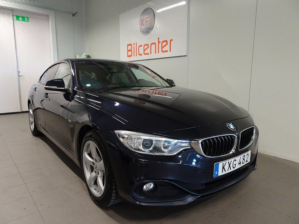 BMW 420 d Gran Coupé Aut-Skinn-Dieselvärmare Sport line Euro 6 190hk