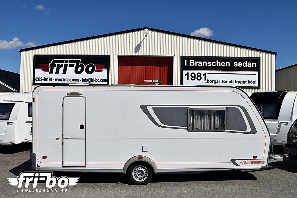 Weinsberg 510 XD Dubbelbädd/Queenbed
