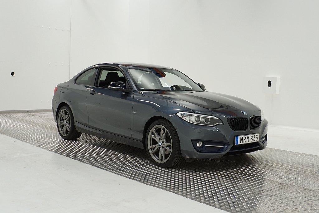 BMW 218d Coupé, F22 (143hk)