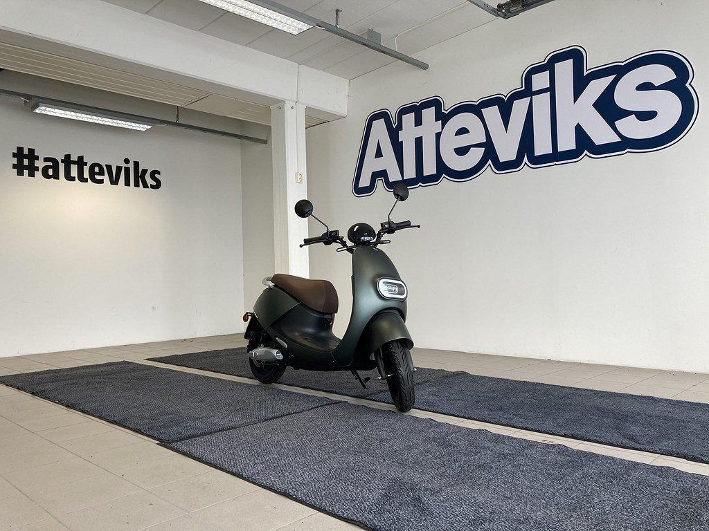 LV LX02 Elektrisk Moped (60-140Km) 3-Års Garanti